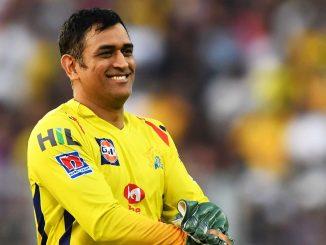 Dhoni na fans mate mahatva na samachar UAE ma pohchya pachi prathamvar jova malyo mahi no aa andaj