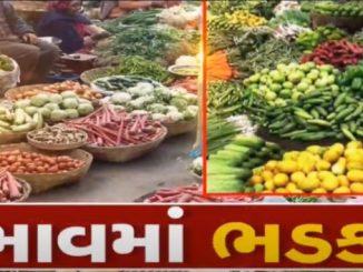 Veggies prices skyrocket as rains destroy crops, Ahmedabad & Surat Gruhinio na budget ne jatko shakbhaji na bhav ma bamno vadharo