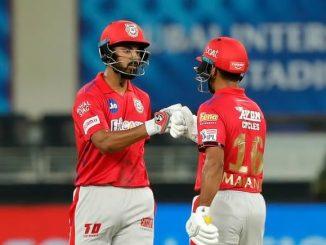 T20 League caption k l rahul ni season ni pratham dhamakedar sadi, RCB ne jitva ma 207 run no lakshayank