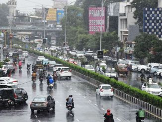 After dry spell Parts of Surat receiving rain showers