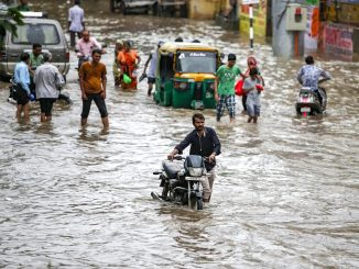 Parts of Gujarat received heavy rain showers