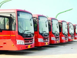 BRTS workers sacked by authority stage protest Surat