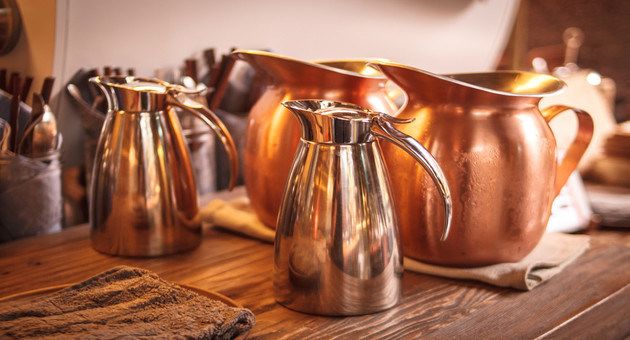Start drinking water in a copper pot today and experience the benefits for yourself