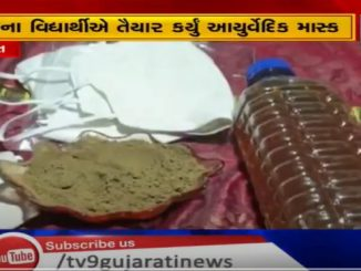 Student develops ayurvedic mask to contain spread of COVID19 Surat