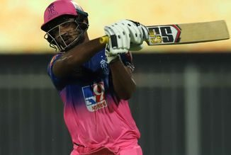 T-20: Sanju Samson's quick half-century off 19 balls puts Rajasthan in a strong position