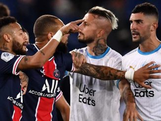 Star footballer Neymar had to slap his opponent on the field. Banned for two matches