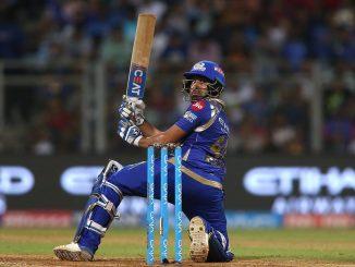 IPL 2020 Hit man rohit sharma e practice darmiyan j fatkari sixer ball gayo stadium bahar juvo video