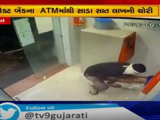 Smugglers caught breaking CCTV in Surat, smugglers steal Rs 7.50 lakh