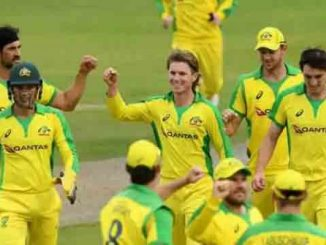 Australia won the third ODI by three wickets, beating England at home in five years, Maxwell and Kerry's century.