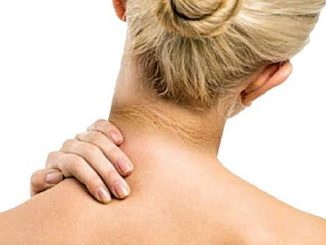 The body is white but the neck is black? Do this in a pinch to remove the blackness of the neck