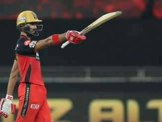 T-20 League: Virat once again fails in banting, Finch, Padikkal and De Villiers hit three half-centuries to give Mumbai a 201/03 score.