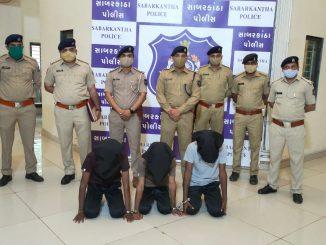 Sabarkantha: Chori no aatank machavti garbada ni chadi gang pratinj police na hate jadpai 35 chorio na bhed ukelaya