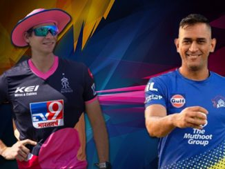 T-20 Rajasthan Royals set their first 200 par target of the season, 217 for CSK