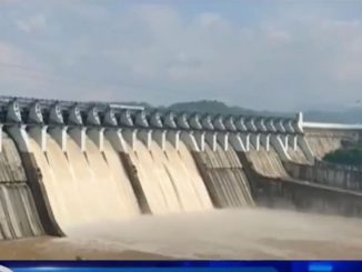 Water level of Narmada dam recorded at 137.66 m