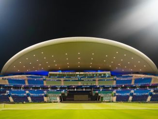 The stadium in the UAE is ready, Jai Shah shared pictures of the stadium decorated with lights