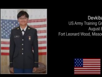 Military training is very difficult in America, Devaki Zala, a native of Gujarat, described the experience of military training.
