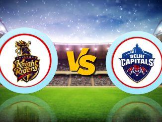 T-20 League LIVE Update : DC VS KKR, IPL 2020 Live Score Updates
