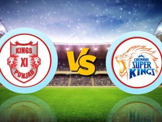 T-20 League LIVE Update : CSK vs KXIP, IPL 2020 Live Score Updates