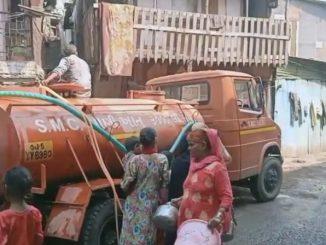 SMC no aa che smart vahivat limbayat vistar ma aagotri jan vagar pani no supply 2 divas thi bandh
