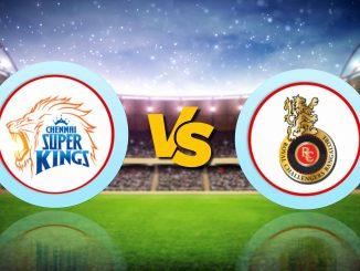 T-20 League LIVE Update : CSK vs RCB, IPL 2020 Live Score Updates