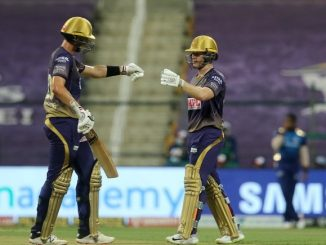 T20 league KKR e Mumbai same 5 wicket gumavi 148 run no score karyo comins ni fifty chahar ni 2 wicket