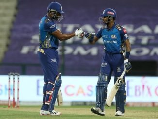 T20 League Polard pandya ni dhamakedar batting MI e banavya 191 run