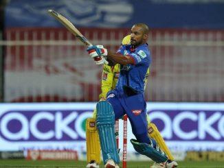 T20 league dhavan ni dhuadhar sadi na sahare DC ni 5 wicket e jit akshar patel na 5 ball ma 21 run