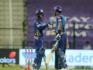 T20 league MI e 2 wicket gumavi ne 149 run kari KKR same jit medavi d cock na 78 run