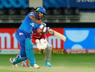 T20 league DC e KXIP ne jitva mate aapyu 165 run nu lakshyank Dhavan ni satat biji sadi