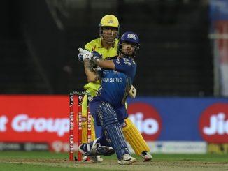 T-20 League Mumbai na opner ni dhamakedar batting thi csk same 10 wicket thi medvi jit