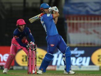 T-20 league DC na batsmano e moti iningis vagar 8 wicket e 184 run no score khadkyo jofra archar ni 3 wicket