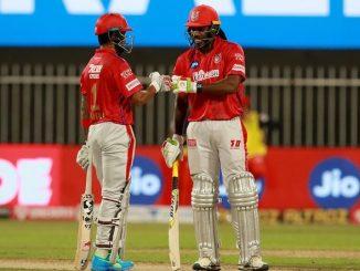 RCB vs KXIP K L Rahul ane gayle ni dhamakedar batting KXIP ni 8 wicket thi jit
