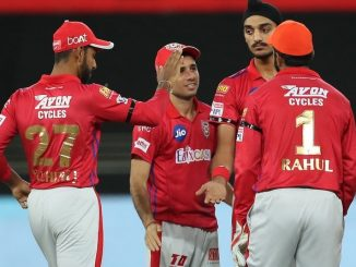 T20 League KXIP na bowlers e 4 run na antar ma j 6 wicket lidhi SRH ni karmi har