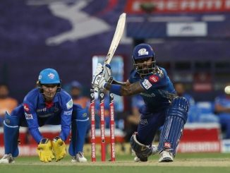 T20 League DC same MI ni 5 wicket thi shandar jit d cock ane yadav ni half century