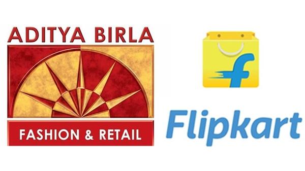 Flipcart aditya birla fashion and retail ma 7.8 taka hisso kharidse deal ne rokankaro e aavkarta share 6 mahina ni sarvoch sapati e pohchyo