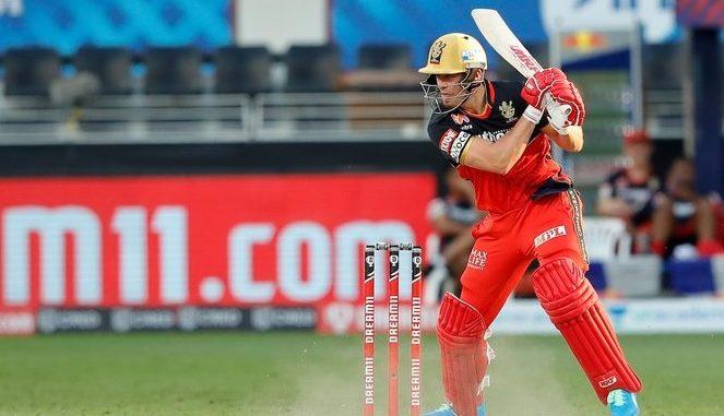 T20 league RCB e RR same 7 wicket romanchak vijay medvyo Deviliars na 22 ball ma 55 run