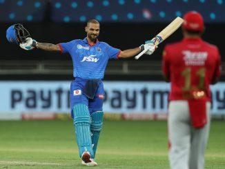 T-20 league shikhar dhavan e league ma rachyo itihas aa prakar e ramat dhakhvanar pratham batsman banyo