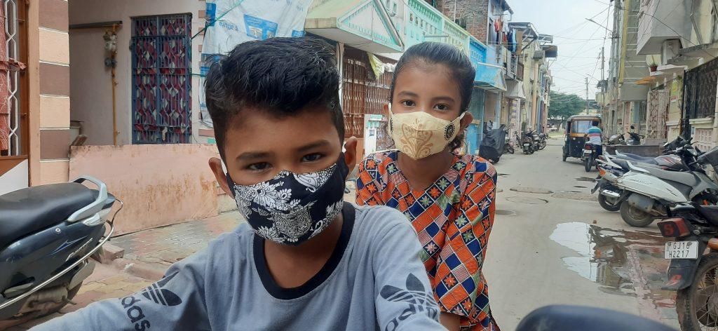 Corona j nahi parantu seasonal infection thi pan suraksha aapta pocket mask bajar ma aavya