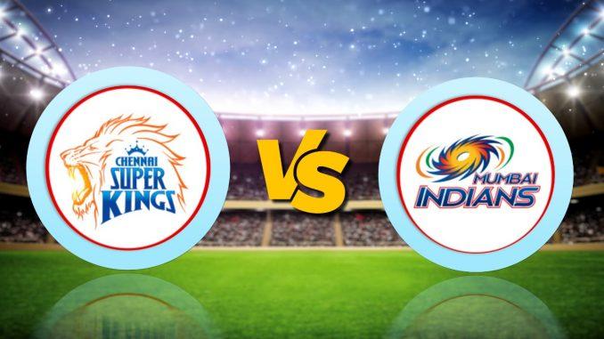 T-20 League LIVE Update : MI vs CSK, IPL 2020 Live Score Updates