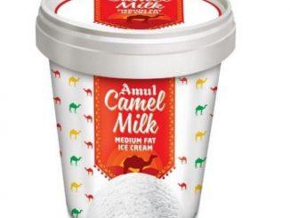 lo karo vat amul fedration have camel milk powder ane camel milk icecrime banavi bajar ma vechse