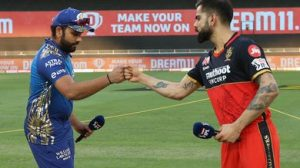 T-20: Bangalore and Mumbai to play in playoffs today, uncertainty over Rohit Sharma
