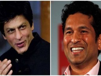 Cricket's master blaster Sachin Tendulkar says Bollywood's king has become speechless