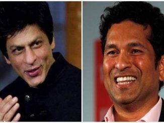 Cricket's master blaster Sachin Tendulkar says Bollywood's king has become speechless