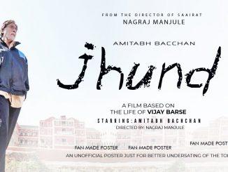 હૈદરાબાદના ફિલ્મ નિર્માતા નંદી ચિન્નીકુમારે અમિતાભ બચ્ચનની ફિલ્મ 'ઝુંડ'ને લઇને કન્ટેમ્પ્ટ પિટિશન દાખલ કરી