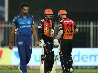 T20 league MI ne 10 wicket e haravi ne SRH shandar rite Playoff ma pohchyu bane opner ni fifty