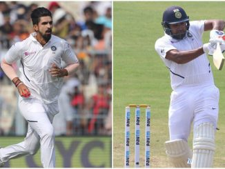 Tweak, Rohit and Ishant were both ruled out of the first two Tests for Team India at the start of the tour