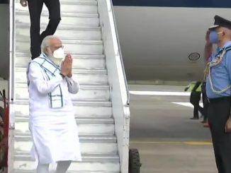 PM Modi arrives in Pune, to visit Serum Institute of India to review COVID-19 vaccine development