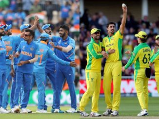 Ind vs aus 1st ODI 8 Mahina bad bhartiya team medan par parat farse hitman ni vartase khot