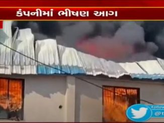 Fire breaks out at plastic company in Valsad GIDC