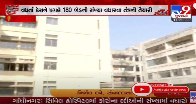 180 beds to be added in Gandhinagar Civil hospital